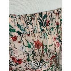 NWT AMUR Daria Dress in Blush Multi Wildflower Pink Green Wedding Doen Size 4
