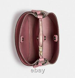 NWT Coach Small Town Bucket Bag 2310 satchel tote handbag DANDELION FLORAL