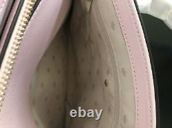 NWT Kate Spade Greene Street Small Mariella Leather Satchel Bag in Pink