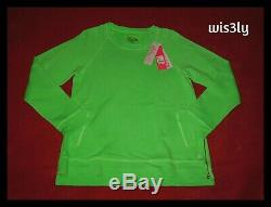 NWT Lilly Pulitzer Beach Comber Pullover Pink Patina Green L SOLD OUT RARE