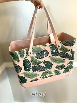 New BOGG Bag Limited Edition Palm Print LARGE NWT Pink FREE SHIPPING