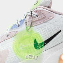 New Nike Air Max 200 SE Casual Shoes CU4769-100 White Pink Green Women's Size 9