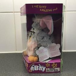 New Rare Furby 1998 Original Tiger Electronics 70-800 Pink Belly with Green Eyes