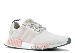 New adidas ORIGINALS NMD R1 W D97232 Icey Pink Size 6 Womens White/ Pink Green