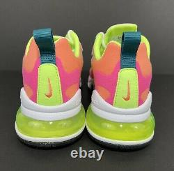 Nike Air Max 270 React Rose Pink Ghost Green DC1863-600 Women's Size 7.5