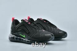 Nike Air Max 720 Mens Size Uk 7.5 Eur 42 (cq4614 001) Black/ Hyper Pink/ Green