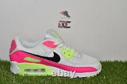 Nike Air Max 90 Watermelon White Pink Blast Green Women's Multi Sizes CT1030-100