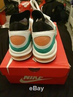 Nike Air Max 93 Miami Vice Uk10 EUR44 white green pink 1 80 90