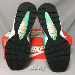 Nike Air Max 93 UK11 306551-105 Miami Vice US12 EUR46 white green pink 1 80 90
