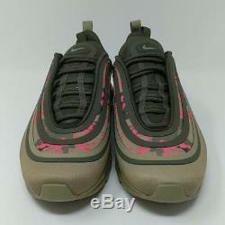 Nike Air Max 97 Ultra'17 C Pink Camo Green Olive Beige Black Stucco AH9946-201