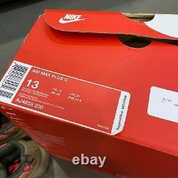 Nike Air Max Plus TN Mens Size 13 Digi Camo Neutral Olive Green Pink AJ4858-200