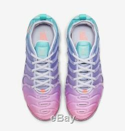 Nike Air Max Vapormax Plus Size 8 Women Purple Pink Green