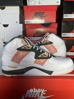 Nike Air Trainer SC High Pink Quartz Green White Bo Jackson BRAND NEW Size 10