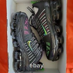 Nike Air Vapormax 360 CK2718-003 Black Pink Blast Green Strike Men's Size 9