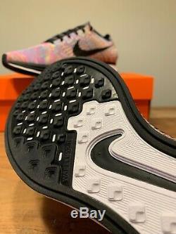 Nike Flyknit Racer Multicolor 1.0 Blue Green Pink 526628-004 M Sz 9/W Sz 10.5