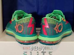 Nike KD VI 6 Elite Superhero Turbo Green Vivid Pink SZ 10.5 (642838-300)