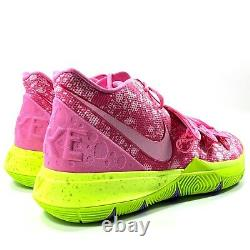 Nike Kyrie 5 SBSP SpongeBob Patrick Star Pink Red Green CJ6951-600 Men's 17-18
