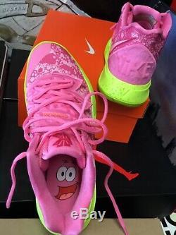 Nike Kyrie 5 Sz 8. Pink /Green Spongebob Basketball Sneakers CJ6951-600