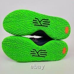Nike Kyrie 7 Samurai Ky Midnight Navy Blue Green Pink CQ9326-401 Size 10 No Lid