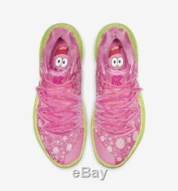 Nike Kyrie Irving 5 Patrick Lotus Pink Green Spongebob Squarepant Men & Kid Size