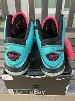 140559b6726a Nike Lebron 8 Viii Sz 11 South Beach Miami Pink Green New Black Lbj Viii Qs