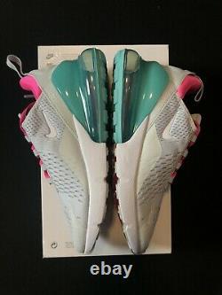 Nike Women's Air Max 270 South Beach Grey Pink Green AH6789-065 Sizes 7.5-9
