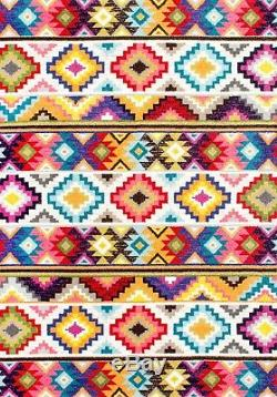 NuLOOM Bohemian Southwestern Area Rug in Multi Red, Pink, Yellow, Blue, Green