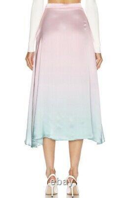Olivia Rubin 8 Penelope Pink & Green Ombre Skirt