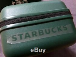 Original Starbucks Korea Limited Summer Ready Bag set (PINK + GREEN) Luggage bag