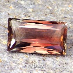 PINK-RED-GREEN MULTICOLOR SCHILLER OREGON SUNSTONE 4.56Ct FLAWLESS-INVESTMENT