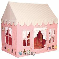 Pink Gingerbread Cottage Children's Playhouse / Play Tent by Win Green Girl