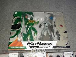 Power Rangers Lightning Collection Mighty Morphin Green White Pink Blue Black Ye