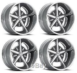 Pro Wheels HOT ROD 19 Polished Aluminum Billet Wheels Rims Foose Intro Forged