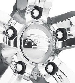 Pro Wheels Spitfire 6 20 Polished Aluminum Billet Forged Rims Intro Foose Bon