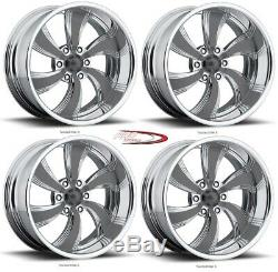 Pro Wheels TWISTED KILLER 6 20 Polished Aluminum Billet Wheels Rims (set of 4)