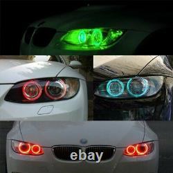 RGB Red Green Blue Pink LED Angel Eye BMW E90 E92 E93 E60 M3 320 325 F01 E70
