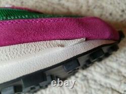 Sacai x Nike LD Waffle Pine Green Men's Size 10.5 Pink BV0073-301 New with Box
