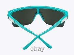 Spy Flynn 5050 Teal Sunglasses HD+ Grey Green Pink Spectra Lens
