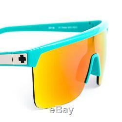 Spy Flynn 50-50 Teal Grey Green Pink Spectra Sunglasses (SPSF5TE66)