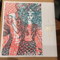 Starbucks Reserve Jigsaw Puzzle 1008pcs Mermaid Siren Coffee Pink Green 2016 New