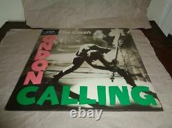 THE CLASH LONDON CALLING TESCO GREEN PINK vinyl NEW SEALED VERY RARE
