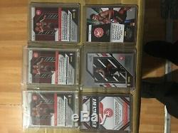 Trae young prizm lot beautiful cards green pink ice 2 silver 1 base mint