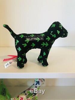 Victorias Secret PINK Pelotonia Dogs 2011 2013 2014 2015 Green Black RARE
