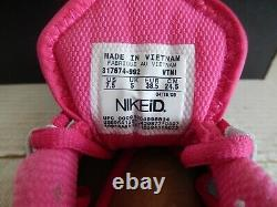 Wmns Nike Shox Turbo + ID Mint Green-pink-black Sz 7.5 317674-992