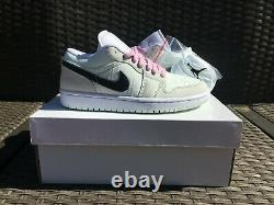 Womens Air Jordan 1 Low SE Barely Green Pink Sizes 6.5-11 IN-HAND CZ0776-300