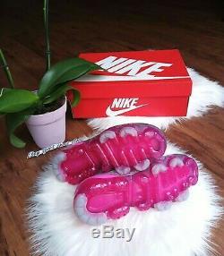 10 Nike Air Vapormax Flyknit 3 Femmes Rose Vert Multicolore En Cours D'exécution Ci7577 001