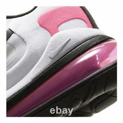 $160 Nike Air Max 270 React White/pink/green Women's Running Trainning Shoes