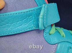 2013 Nike Air Force 1 Haute ID De Pâques Bleu Vert Violet Rose Sz 11 (624635-985)