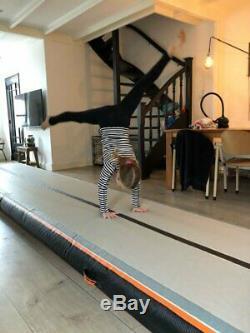 20ft Airtrack Air Piste Plancher Gonflable Gymnastique Tumbling Mat + Free Pump Gym