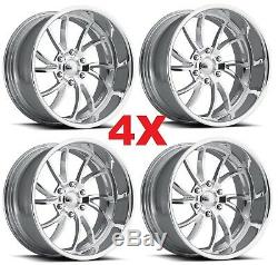 24 Pro Roues Twisted Ss 6 Personnalisé Forged Billettes Jantes Intro Ligne Foose Staggered